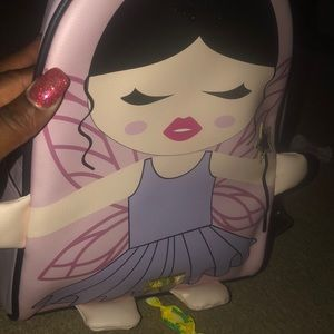 BETSEY JOHNSON BACKPACK has a small Knick FIRM